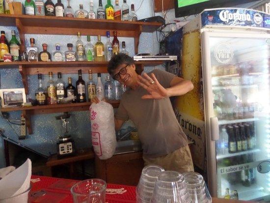 The Flophouse Bar : Carlos Our Bartender