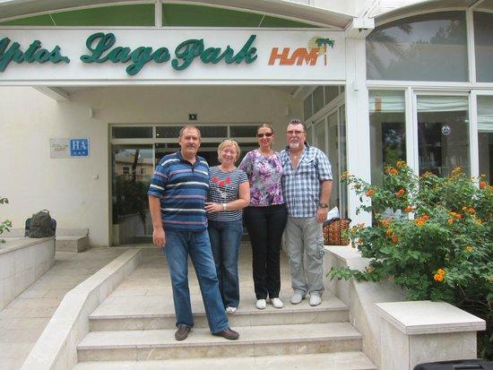 HSM Lago Park: Вход в отель