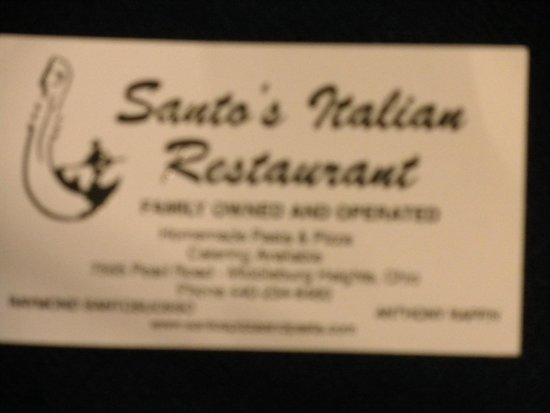 Photo of Italian Restaurant Santo's Pizza & Pasta at 7565 Pearl Rd, Middleburg Heights, OH 44130, United States
