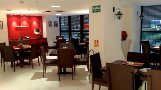 Allia Gran Hotel Brasilia Suites: Cosy dining-room section