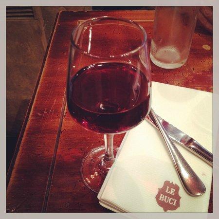 Cafe Le Buci: Bom Pinot Noir