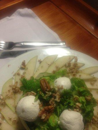 Radisson Poliforum Plaza Hotel Leon: Delicious salad