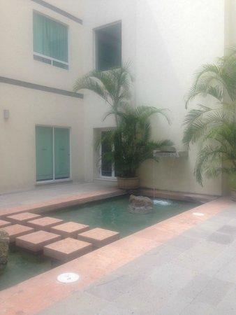 Radisson Poliforum Plaza Hotel Leon: nice relaxing corners
