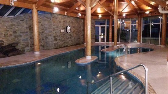Very Relaxing Pool Picture Of Sheen Falls Lodge Kenmare Tripadvisor
