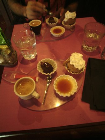 The Central Pub : café gourmand ^^ (formule lunch)
