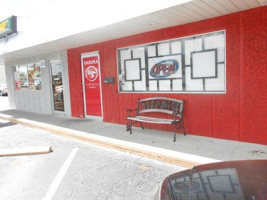 Sakura Japanese Steak House & Sushi Bar: entrance