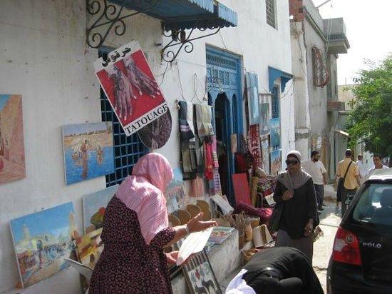 Sidi Bou Said, Tunisia: 外観