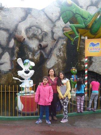 La Feria de Chapultepec: Entrada a feria
