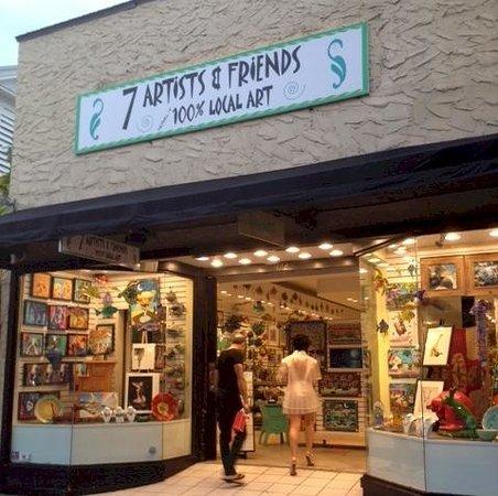 7 Artists & Friends Wet Paint Gallery