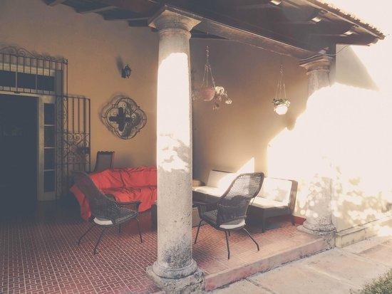 Villa Sofia: внутренний дворик