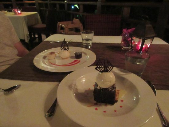 The Cliff at Cap Maison : sweet treats