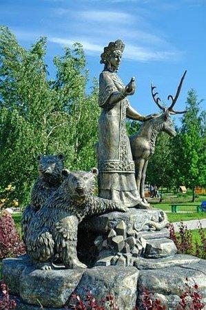 Памятник хозяйке медной горы в екатеринбурге камень для памятников купить 6 Выборгская