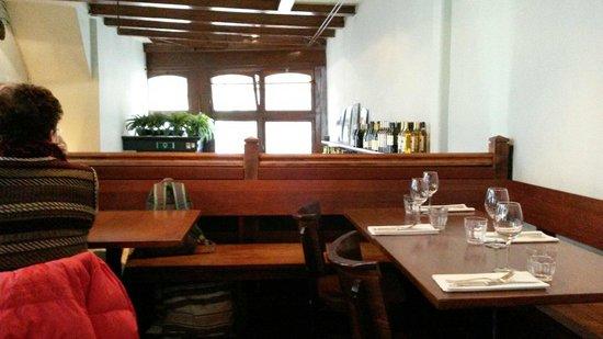Restaurant Côte Ouest : Dal piano di sopra