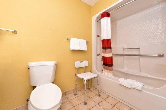 Ada Bathroom Picture Of Red Roof Inn Paducah Paducah
