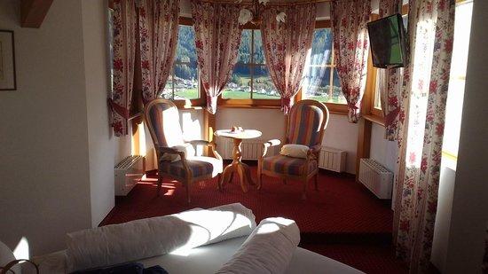 Turmhotel Gschwendt: camera nella torretta