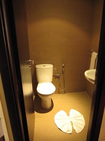 Hotel Atlas Terminus & Spa: Gästetoilette in Junior Suite