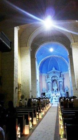 Templo de Santo Domingo : Interior da Igreja