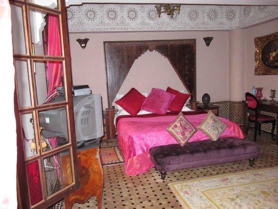 Riad Damia: Schlafzimmer