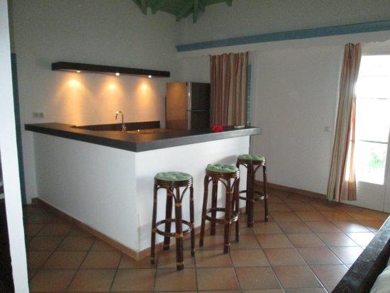 Hotel La Plantation: cucina in suite