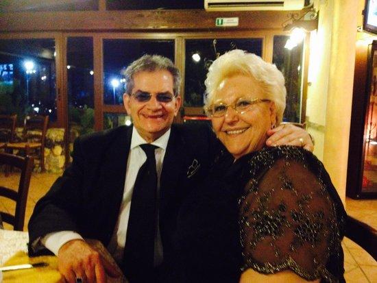 Hotel Donatello: Angelo  e Caterina