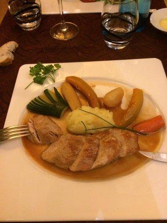 LA CREMAILLERE : Filet mignon