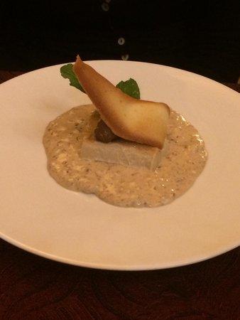 LA CREMAILLERE : Crème carambar et tapioca