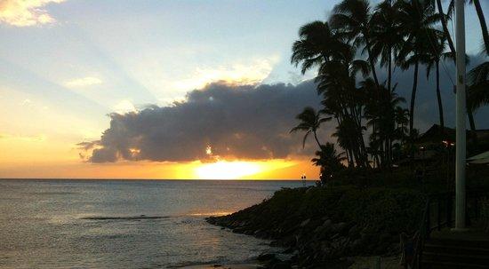 Napili Kai Beach Resort: Sunset