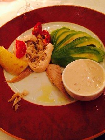 San Carlo - Bristol: Avocado & crab