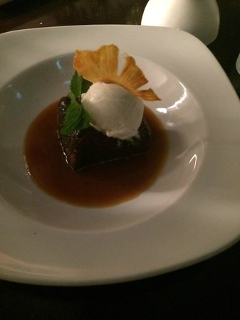 New Moon Restaurant : Sticky toffee pudding