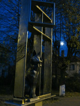 Monument to Cats in Zelenogradsk