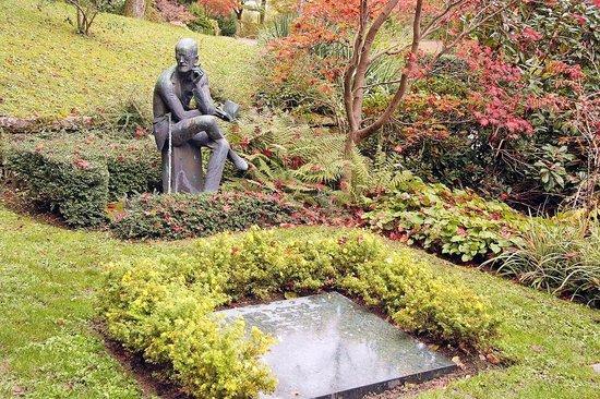 Friedhof Fluntern (Fluntern Cemetery): James Joyce's grave site
