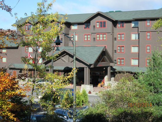 Lake Placid Club Lodges: View from unit 32