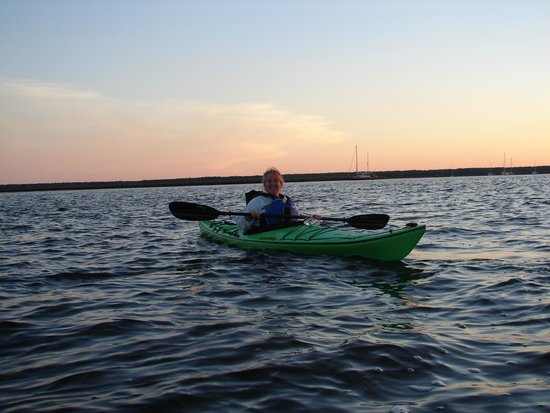 Up The Creek Xpeditions: It was a beautiful sunset kayak trip!