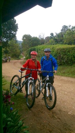 Hotel Casa de Nelly: Beautiful mountain bike tour!