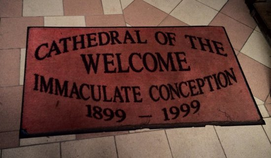 Immaculate Conception Church: At the Front of the Church