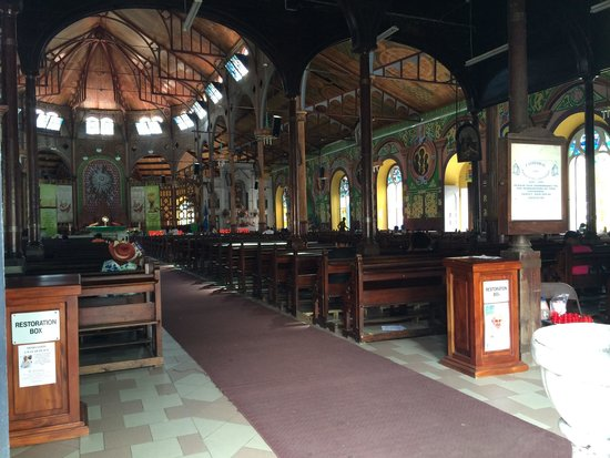 Immaculate Conception Church: Inside the Cathedral
