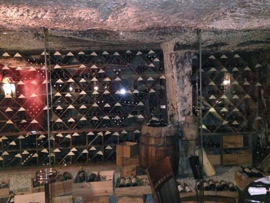 The Arches : Amazing Wine Cellar (Back of Restaurant).