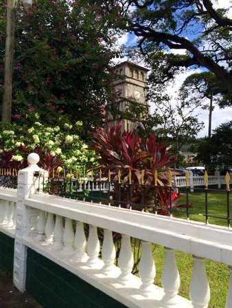 Derek Walcott Square: Next to the Cathedral