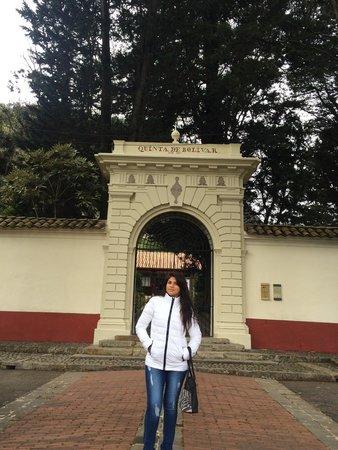 Casa Museo Quinta de Bolivar: La Quinta de Bolívar.