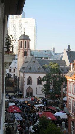 Hotel Neue Kräme: vista para a esquerda