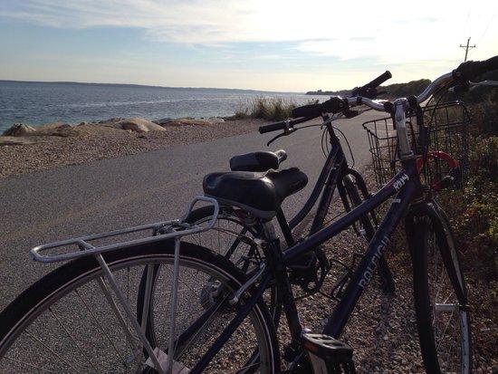 Woods Hole Inn: Shining sea bike trail