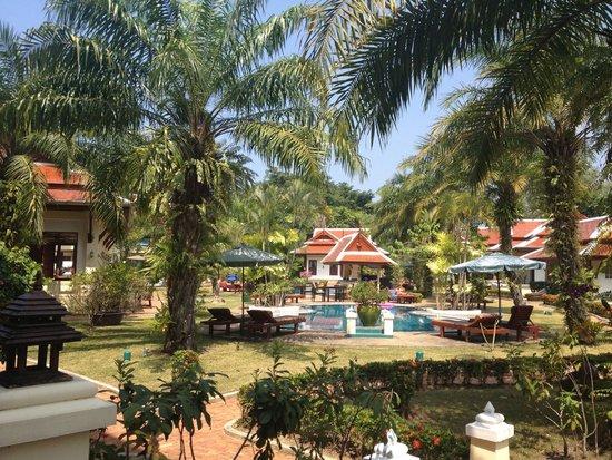 The Pe La Resort: The resort has 2 pools amidst gorgeous, beautifully kept gardens