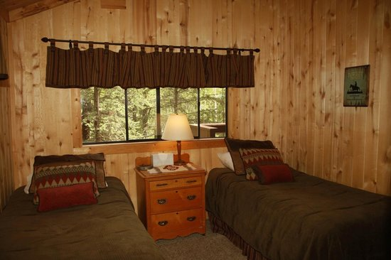 ‪‪Elk Mountain Ranch‬: Spruce bedroom‬