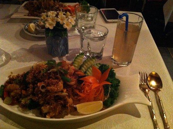 Blue Elephant Thai Restaurant: Blue Elephant Spicy Fried Rice