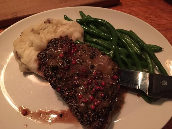 Peppercorn steak - Picture of Canyon Creek, Vaughan - TripAdvisor