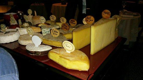 Le Refuge des Gourmets: Plateau de fromage