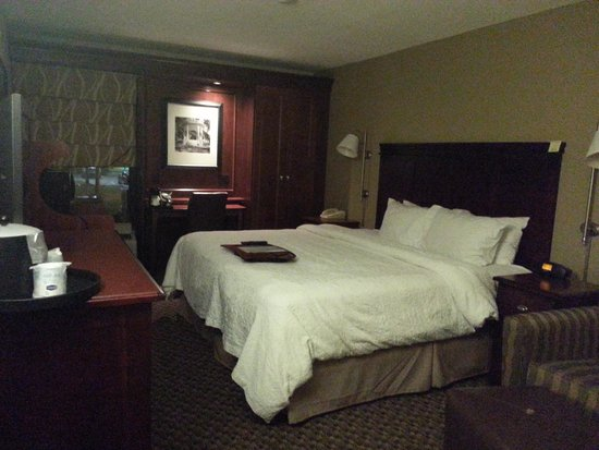 Hampton Inn Charleston - Airport / Coliseum : My Room at Hampton Inn North Airport/Coliseum