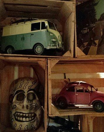 Delirium Taco Bistro Galeria: Eclectic interior like Eclectic menu!