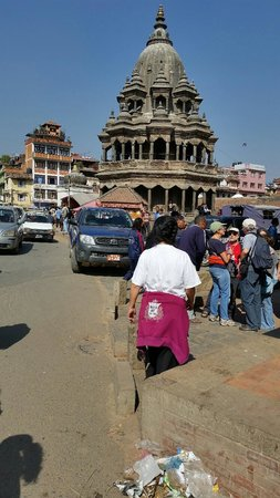 Kathmandu Contemporary Arts Centre: Another view of the main square of Patan