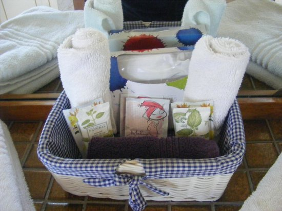 Addington City Motel: The generous toiletries tray the Motel provide upon arrival